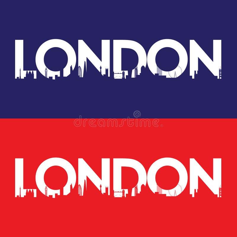 Londyńska miasto etykietka