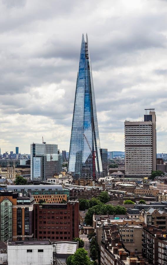 Londyńska miasto linia horyzontu (hdr) obrazy stock