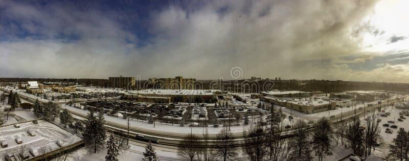 Londyńska Ontario linia horyzontu jako panorama piękny widok zdjęcia stock