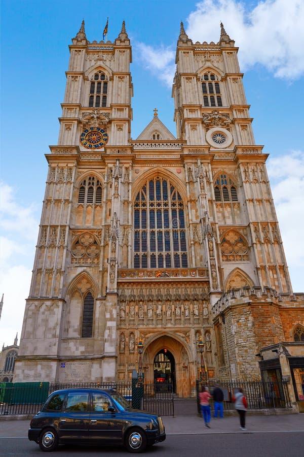 Londyńska opactwo abbey fasada zdjęcie stock