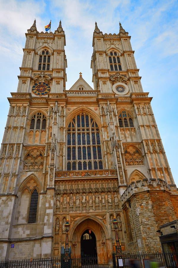 Londyńska opactwo abbey fasada obraz royalty free