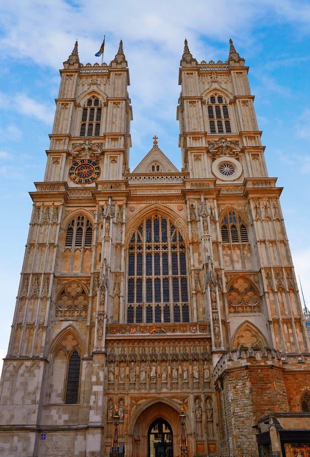 Londyńska opactwo abbey fasada obrazy stock