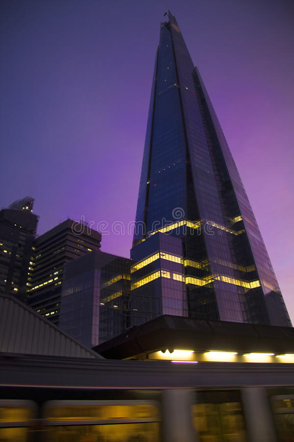 Londyńska scena fotografia stock