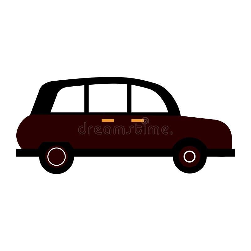 Londyńska taxi taksówka royalty ilustracja