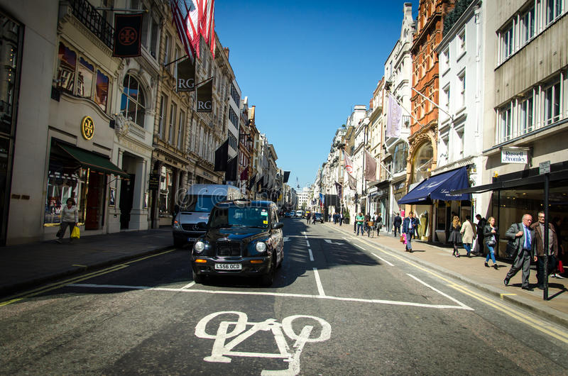 Londyńska ulica fotografia stock