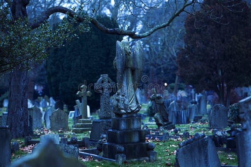 Londyński cmentarz zdjęcia stock