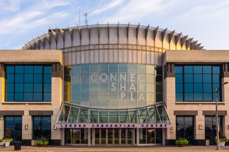 Londyński convention center, Ontario Kanada obraz royalty free