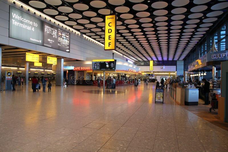 Londyński Heathrow obraz royalty free