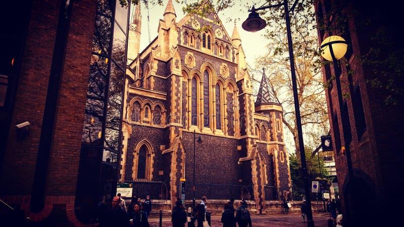 Londyński kościół zdjęcia stock