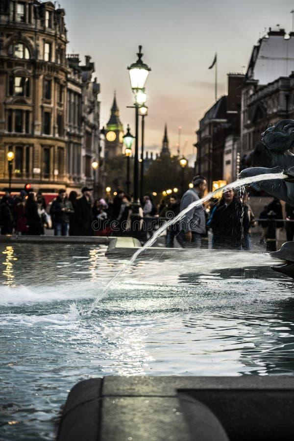 Londyński miasta big ben obrazy royalty free