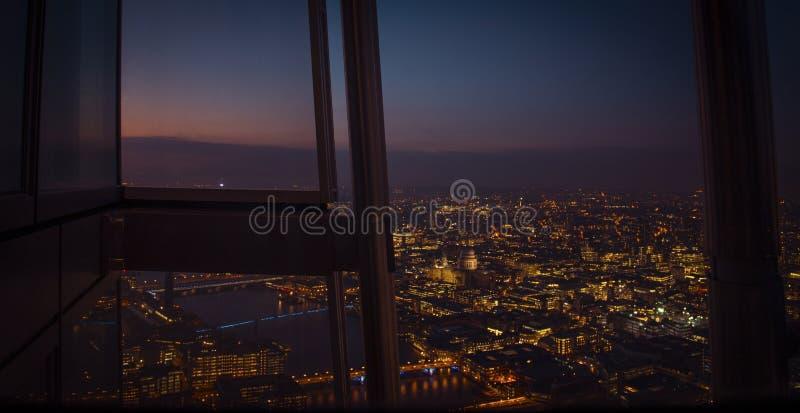 Londyński miasteczko zdjęcia stock