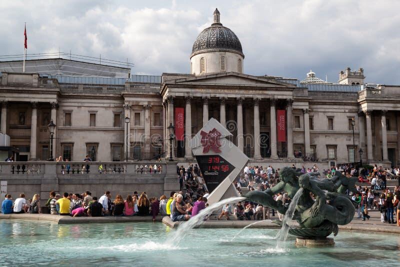 Londyński national gallery zdjęcie royalty free