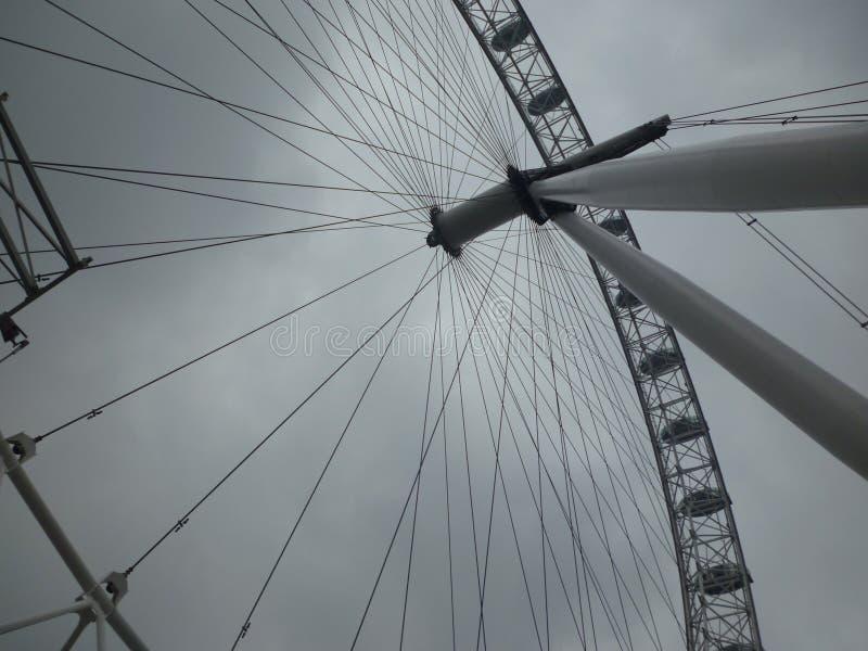 Londyński oko od ziemi obrazy stock