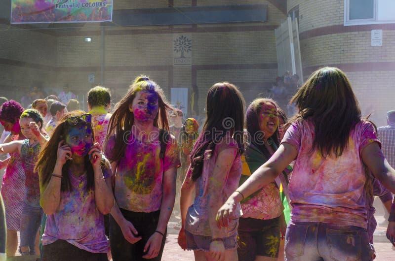 Londyński Ontario Kanada, Kwiecień, - 16: Niezidentyfikowany młody kolorowy fotografia stock