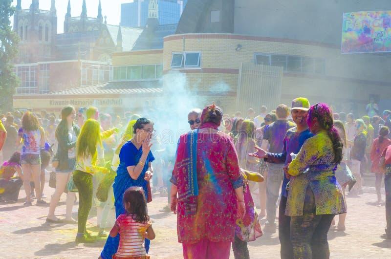 Londyński Ontario Kanada, Kwiecień, - 16: Niezidentyfikowany młody kolorowy p zdjęcie royalty free