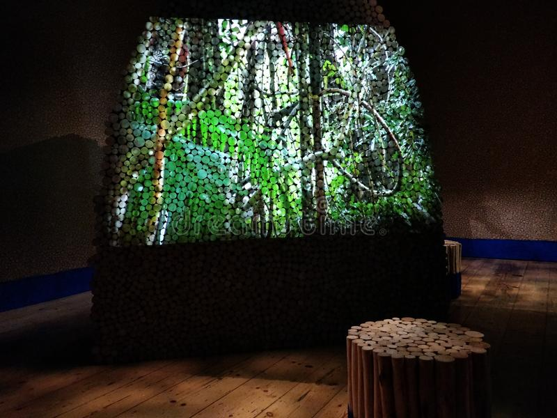 Londyński projekt Biennale obrazy royalty free