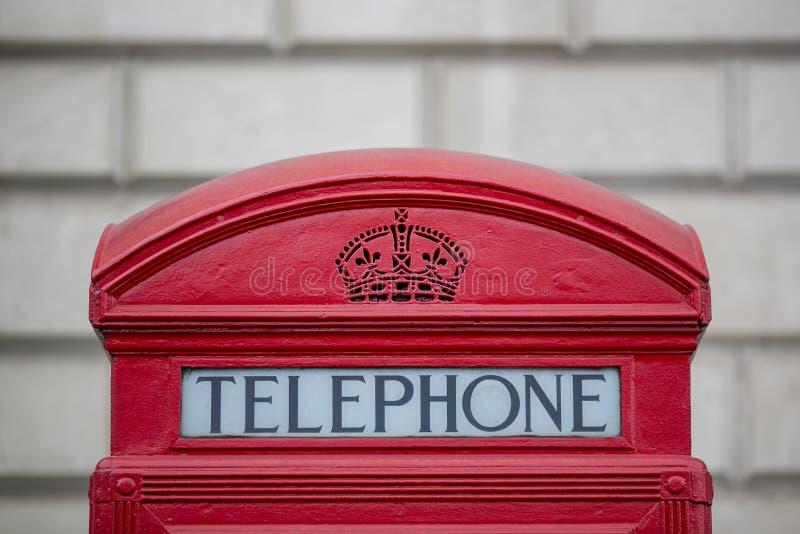 Londyński Telphone pudełko zdjęcie royalty free