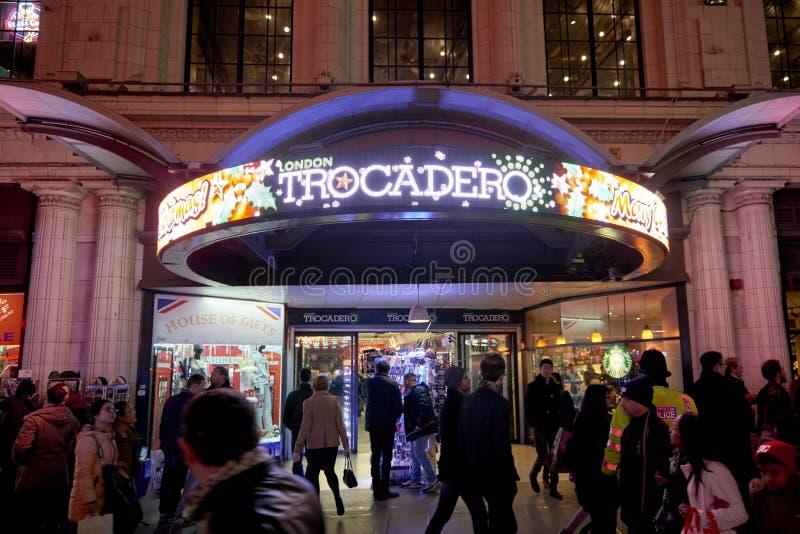 Londyński Trocadero obraz royalty free