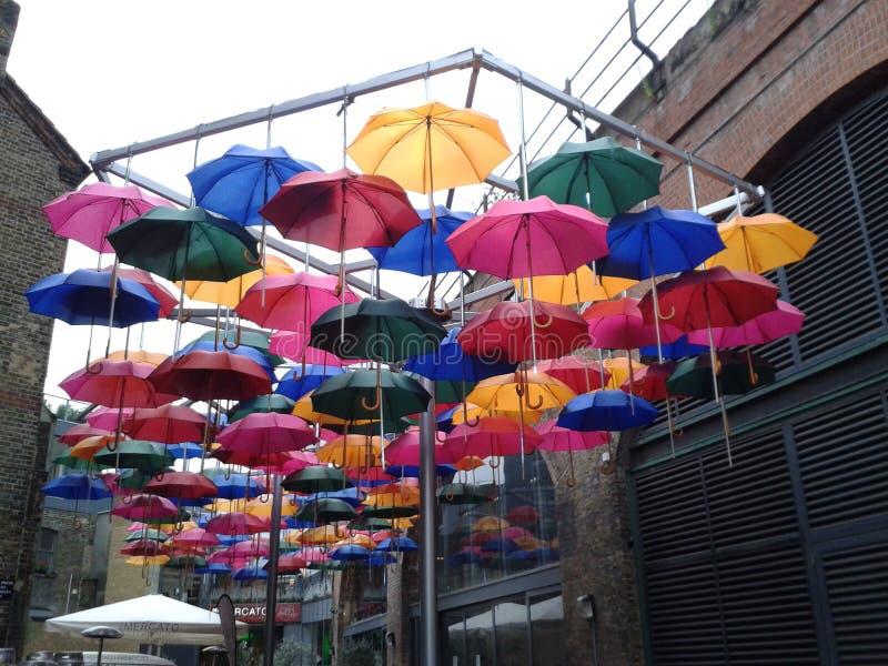 Londyński wezwanie deszcz zdjęcie stock
