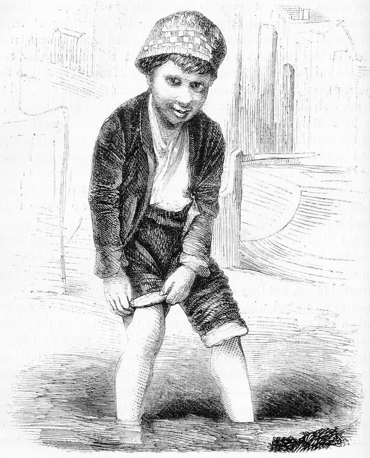 londyn żartu kradzenia banialuka od mudflats ilustracji