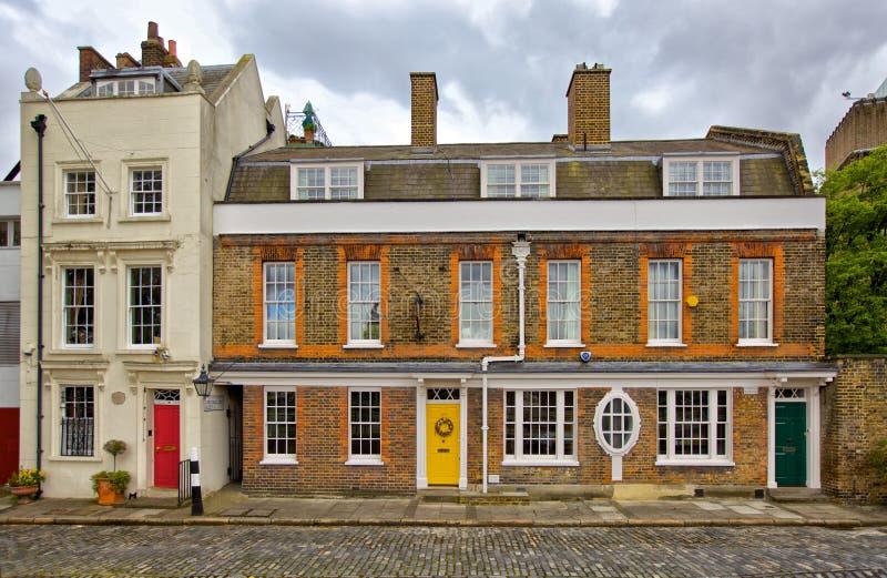Londyn dom zdjęcie royalty free
