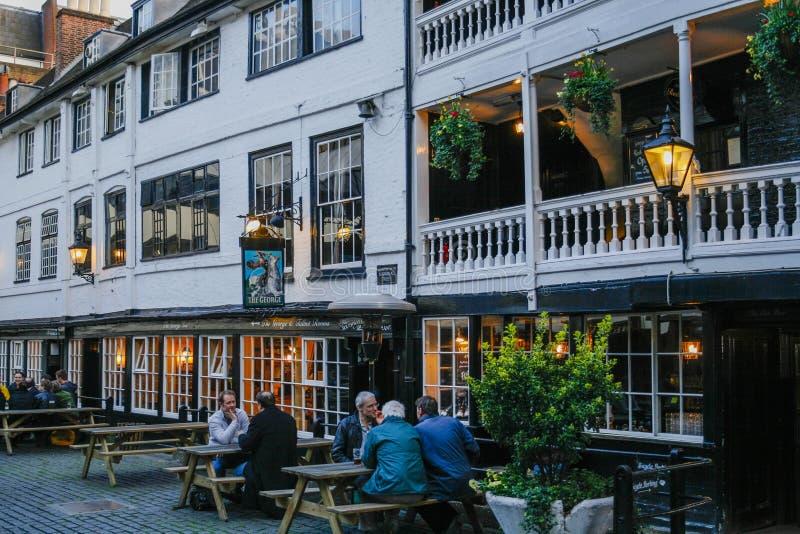 Pub w Londyn zdjęcia royalty free