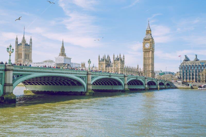 Londyn, UK, 2017, Uliczny widok zdjęcie stock
