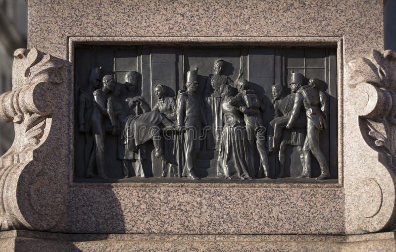 Londyn, Wielki Londyn, UK, Luty 7th 2019, statua Florence Nightingale zdjęcia stock