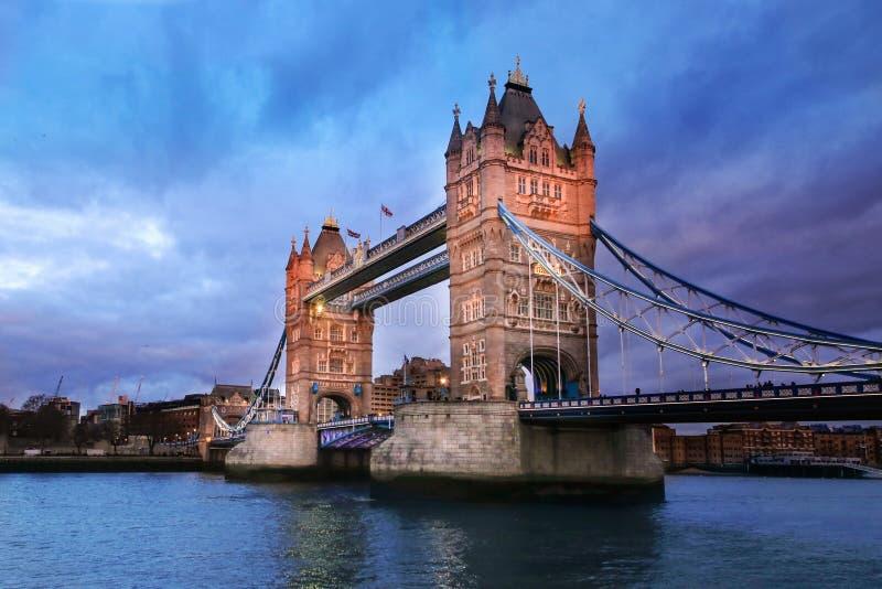 Londyn wierza fotografia royalty free
