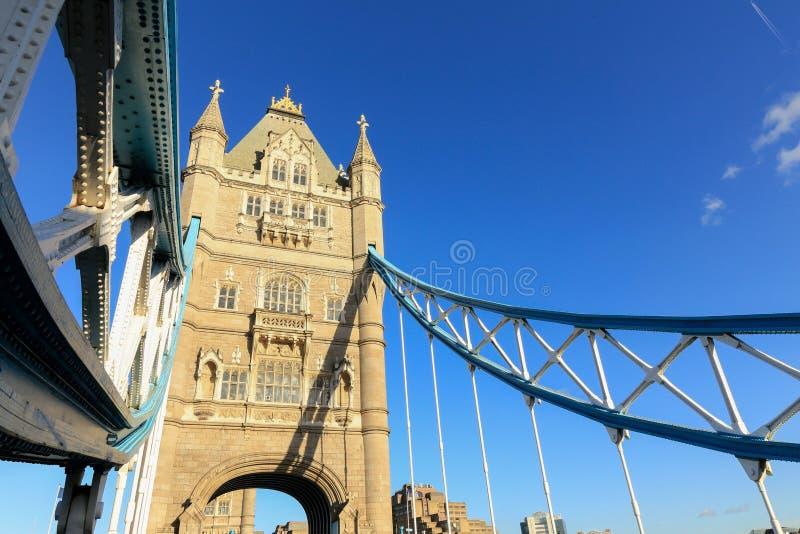 Londyn wierza most obraz stock