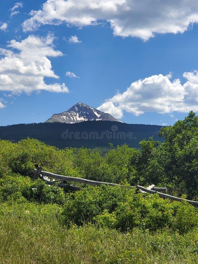 Lone cone mountains of Colorado  2019 stock photos
