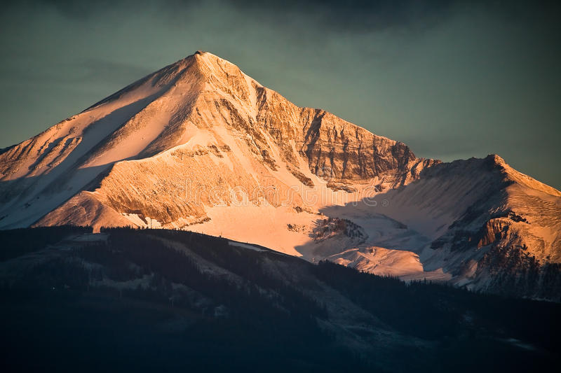 Lone Peak royalty free stock images
