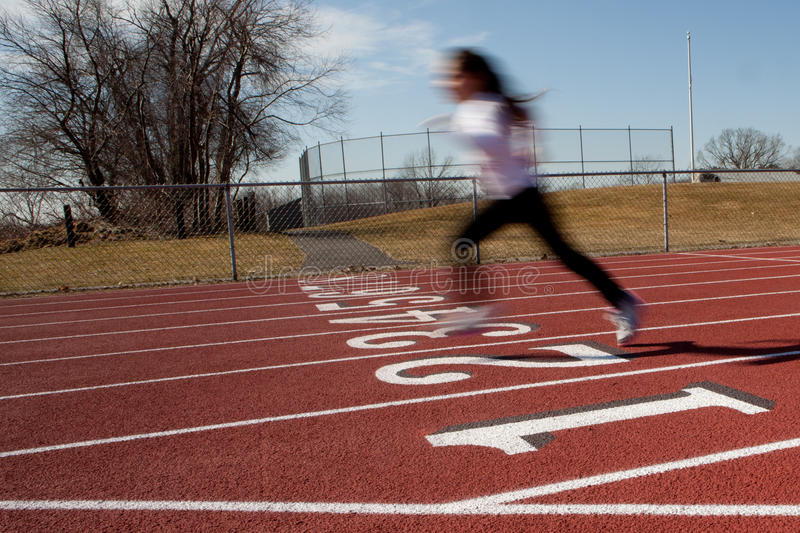 Download Lone Runner Stock Photo - Image: 23806610