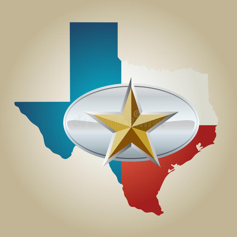 Download Lone Star Belt Buckle stock vector. Image of sherif, cowboy - 22733656