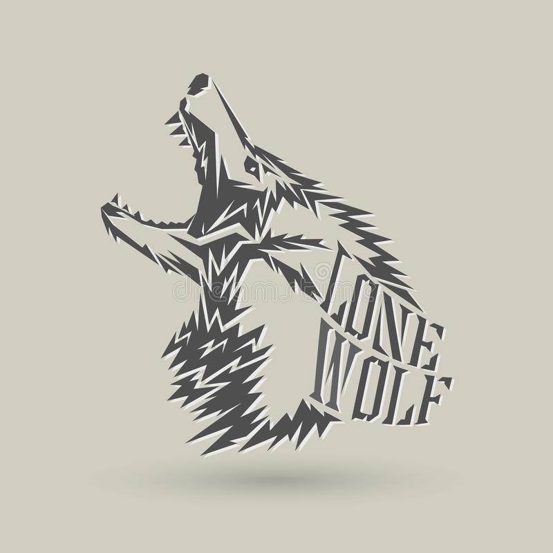 Lone Wolf Stock Illustrations 107 Lone Wolf Stock