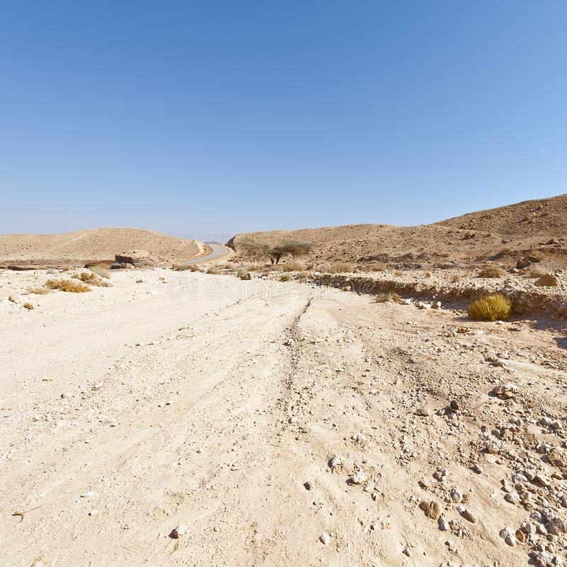 Loneliness and emptiness of the Middle East stock images