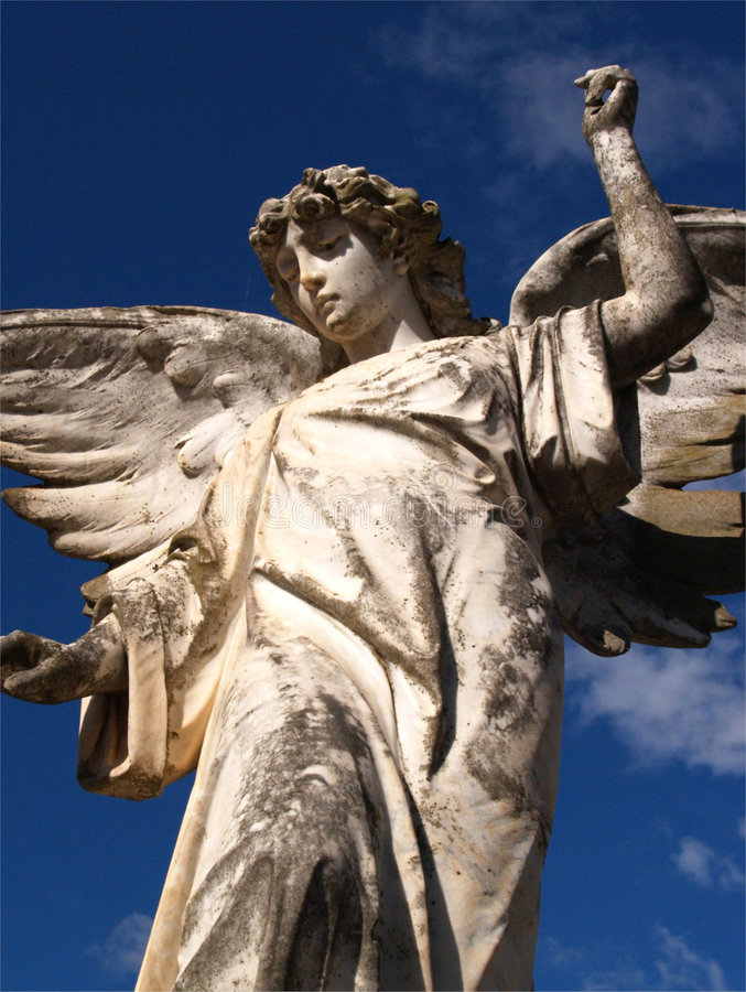 Lonely Angel Royalty Free Stock Images