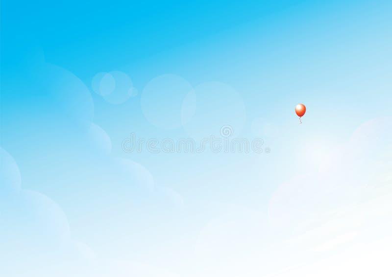 Lonely Balloon Stock Photo