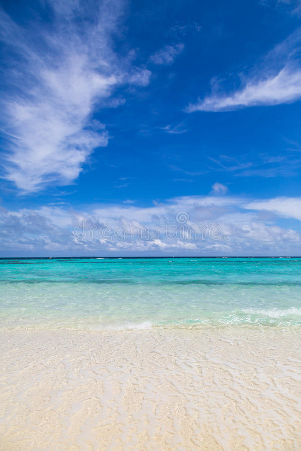 Download A lonely beach stock photo. Image of summer, turquoise - 64224500
