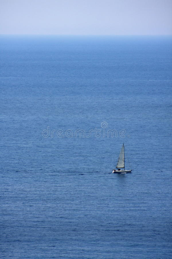 Download Lonely boat stock photo. Image of sunny, cruise, lonely - 13194076