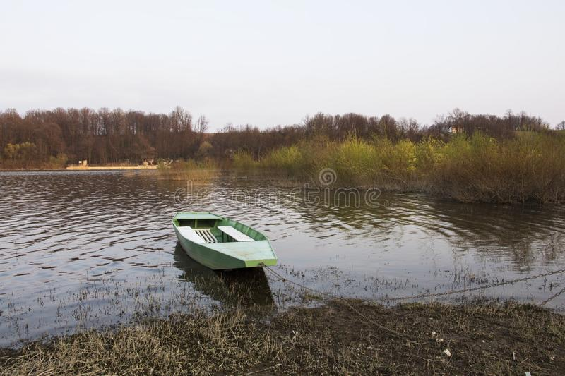 Download Lonely Boat Stock Photo - Image: 92207602