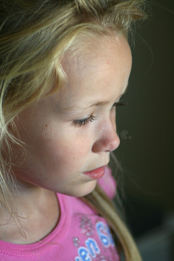 lonely child stock photography
