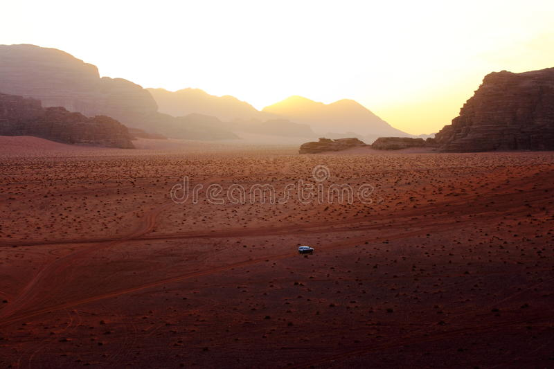 Download Lonely in the desert stock photo. Image of stones, white - 16702274