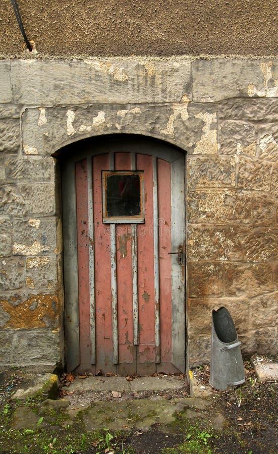 Lonely door stock images