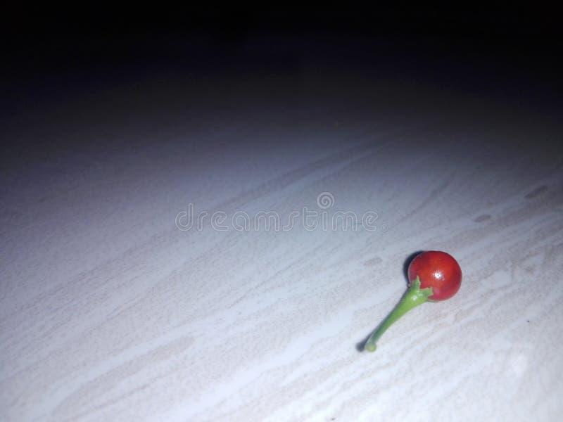 Lonely fruit stock photo