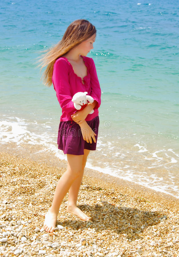 Free Lonely Girl Stock Photos - 15298793