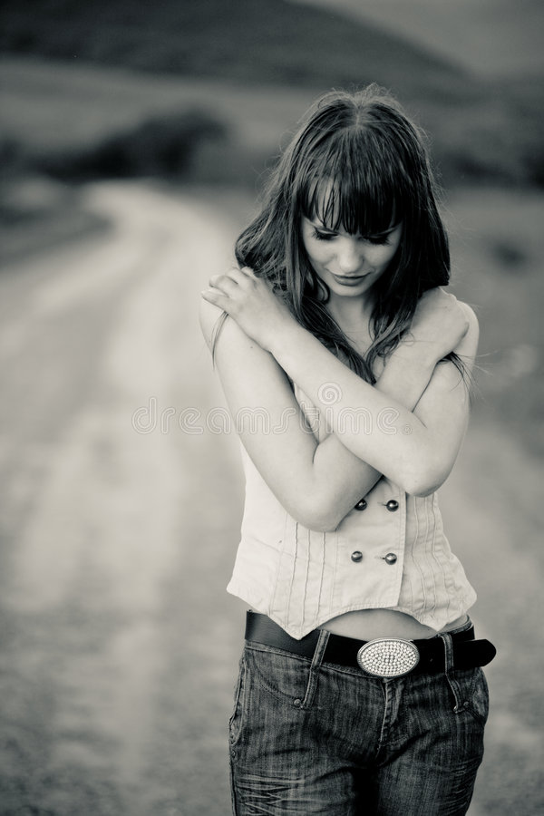 Download Lonely Girl Royalty Free Stock Photography - Image: 5997957