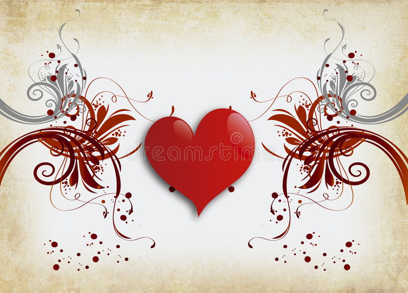 Lonely Heart Royalty Free Stock Photos