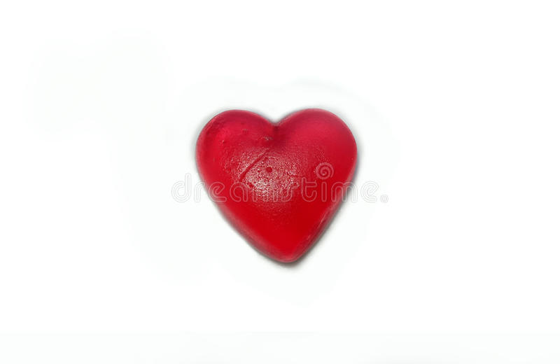 Lonely heart. Breakup and end of relationship royalty free stock photo