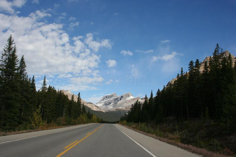 Lonely Highway royalty free stock photos
